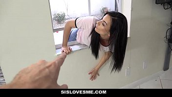 SisLovesMe - Cute Step-Sister Stuck And Fucked