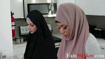 Ebony In Hijab Fucks Brother- Milu Blaze