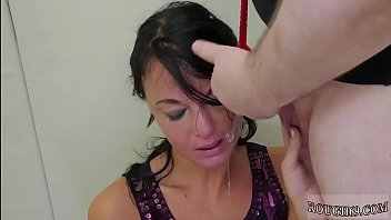Latex angel anal brutal and big tit rough slapping first time Talent
