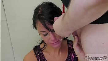 sex at office - Latex angel anal brutal and big tit rough slapping first time Talent thumbnail