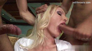 Horny slut bound and fucked