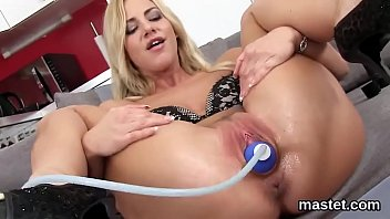 Treatment for laceration in vaginal opening - Nasty czech sweetie opens up her yummy slit to the extreme