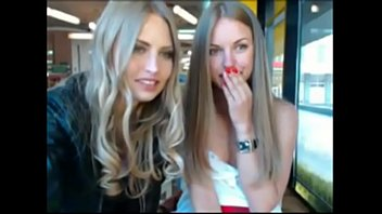 Two sexy blonde sisters gonna naked in public - NakedTeenCam.sexy