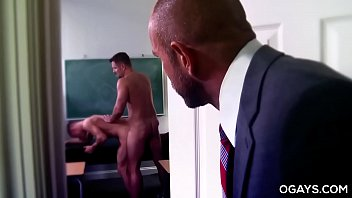 Naked gay brothers at play - Hairy coach fucks the principal