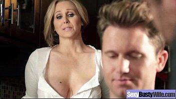 (julia ann) Busty Hot Mature Housewife Get Sluty In Hard Sex Scene mov-14 7 min