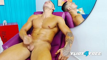 Is god gay - Latino flirt4free hunk brandon sullivan is a muscle god with a big uncut cock