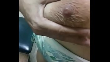 Mature has milk in her tits
