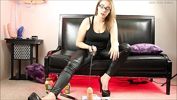 Ball cock domination stomping - Sadistic cbt- hot sauce lube and castration