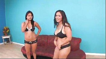 Jessica Bangkok & Lana Violett Lésbicas - Cena Completa