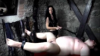 Trampling One Slave while Using Another as Her Ashtray!