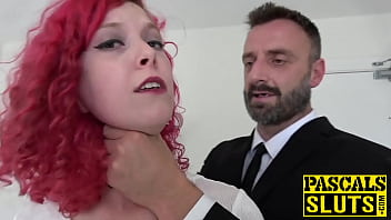 Hot redhead Charlie Ten roughly banged by fat pole Pascal Preview