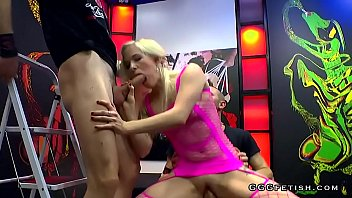 Banging doggiestyle - Ariella teen enjoys pounding banging and cums