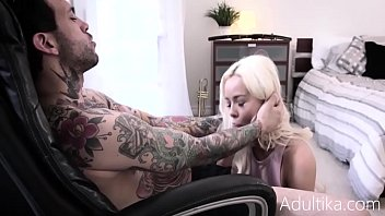 BROTHER TRICKS STEP-SISTER INTO WATCHING HIM MASTURBATE