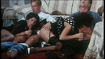 Italian vintage porn: hot foursome with Rocco Siffredi