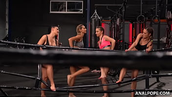 Rival Boxing Teams Finally Meet Up For Some Lesbian Orgy