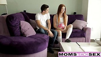 Redhead Mom And Teen Daughter Get Naughty With Cock