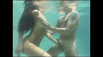 Asian underwater woman Underwater sex