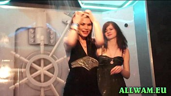 real euro shower party babes