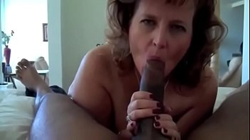 Fat mature grannys - Hot granny with fat ass gets a big black cock