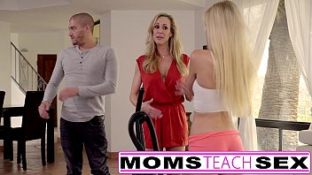 Moms Teach Sex - Big tit mom catches daughter | Video Make Love
