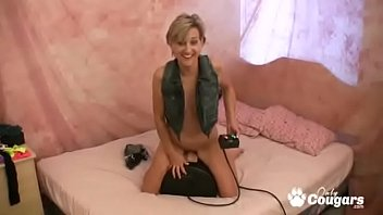 MILF Paige Rides Her Sybian And Gets A Sweet Orgasm