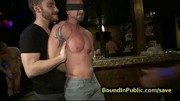 Providence gay bar Baldheaded gay gangbang fucked in bar