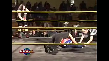 Mixed Wrestling Tag Team - Intergender wrestling tag team (very strong women)