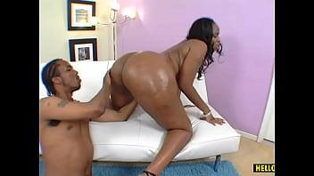 Fatty black babe Tootsie having sex with Charlie Mac