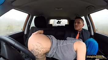 Alexxa Vice anal banged by instructor
