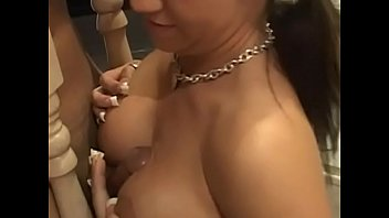 Busty and amazing Kori Kreams helps her man ro reach orgasm with her hands