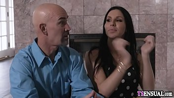 Open minded mature shemale anal smashed by a young guy