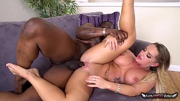 Hot ass blonde Cali Carter taking bbc
