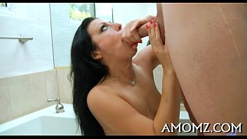 Mature goes wicked in a sex game