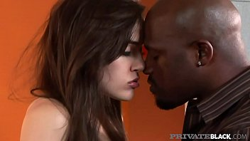 PrivateBlack -Super Star Sasha Grey Sucks & Fucks Black Cock