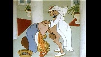 Desfile dos desenhos animados - No harém, o diabo está acontecendo  sexo pornhub 3gp com xxx