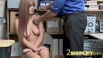 Redhead more cunt Redhead scarlett is stripped down and banged hard by kinky officer