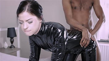 Latex Anal Fuck for submissive anal whore