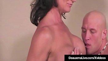 Hot Texas Cougar Deauxma Rides A Horny Hard Cock Cowgirl!