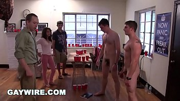 Group twink Gaywire - college frat pledges get hazed and humiliated on campus