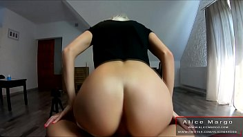 Sexy Blonde Jump on Big Cock! Compilation! AliceMargo.com