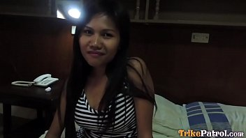 Philippine hairy video Trike patrol - cute filipina milf gets fucked by big white cock