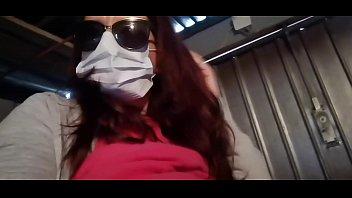 Nicoletta takes revenge on her neighbor and pisses in his garage (Special Covid19 Italian quarantine)
