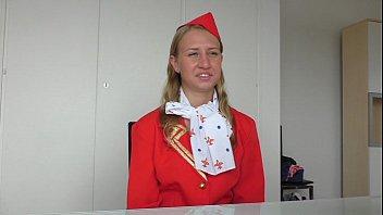 Dumb Russian Teen Air Hostess Creampied At Fakeflightagent