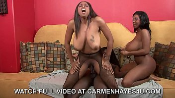 Carmen Hayes , Nathan Threat  & Maserati 3 Way!!