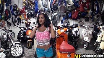 Athletic latina gets dick in the garage Chloe Amour 2 porno izle