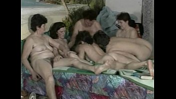 15 minute hairy german granny movies Young dude fucks hair granny and friends