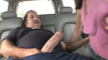 Blowjob in a car