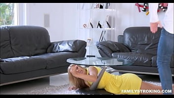 Stepmom Stuck Under Coffee Table Alexis Fawx