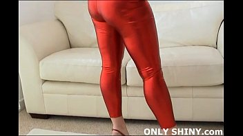 How to you like my shiny red PVC panties? Vorschaubild