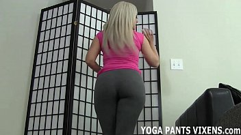How do you shake your ass I see how you stare when i do my yoga exercises joi